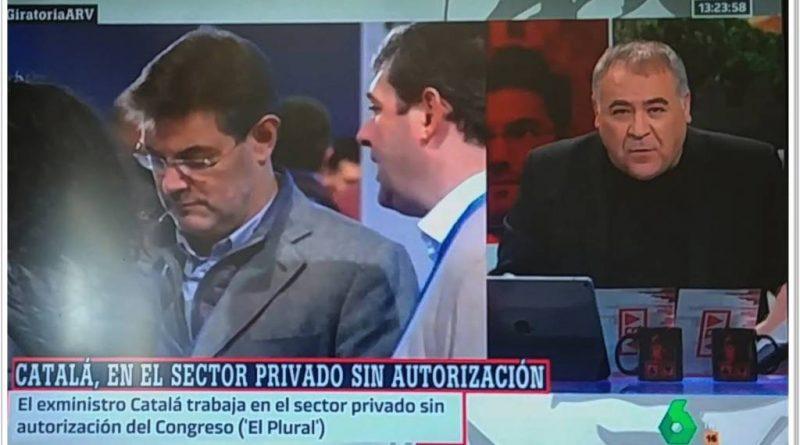 La última Fake New de Ferreras sobre el exministro Catalá