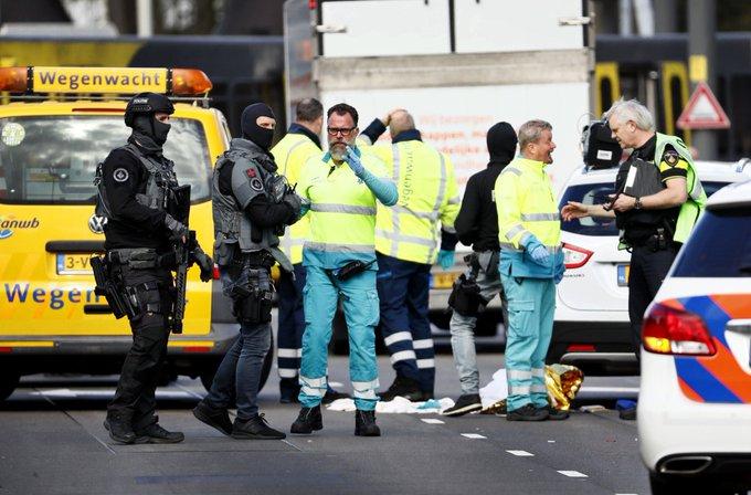 Medios holandeses hablan de varios heridos y muertos en tiroteo en Utrecht.