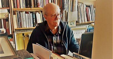Pio Moa en su estudio