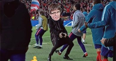 Puchemón hace un Simeone, amenazando con volver como flamante eurodiputado. Por Linda Galmor