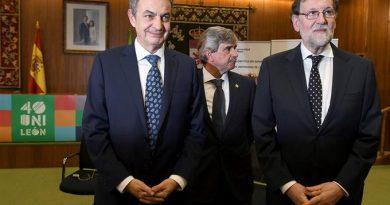 Rajoy y Zapatero coinciden en que el balance de la democracia en España es de éxito en todos los ámbitos