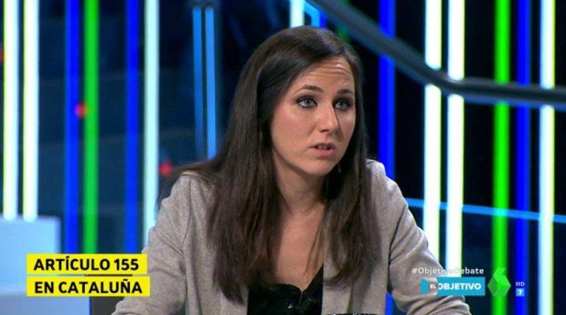 Ione Belarra no falla: Siempre que alguien ataca o insulta a España, allí acude Podemos con toda rapidez para ponerse del lado del que nos insulta.