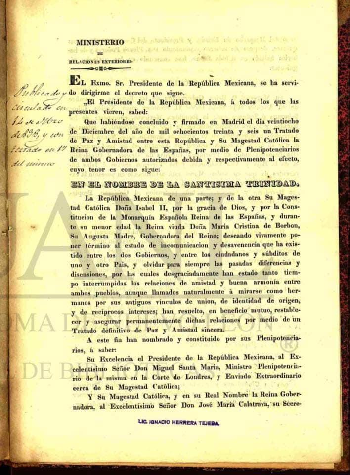 Tratado Santa María-Calatrava