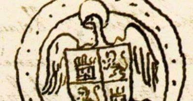 Antes de la Concordia de Segovia Isabel usó un sello personal, que se atestigua en 1473 y que data probablemente de 1468