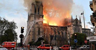 Arde París y despierta al gran dragón del mundo cristiano