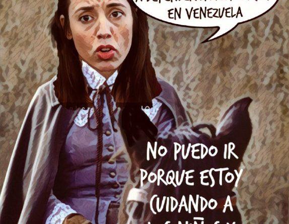 Mueroa de ganas de ir a defender la revolución en Venezuela. Por Linda Galmçor