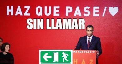 Os lo ruego por favor, HACED QUE NO PASE. Por Juan Padrón Sabina