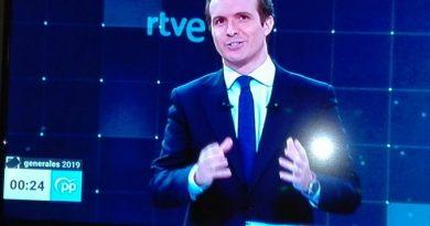 Pablo Casado en el Debate