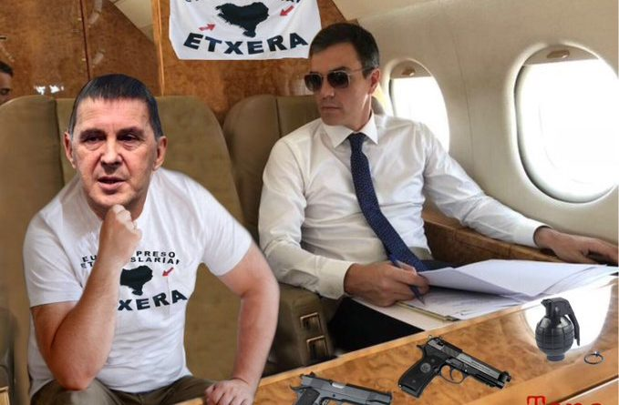 Si no quieres que la próxima imagen del Falcon sea esta, el día 28A no te quedes en casa, tenemos que echar a unos de los mayores traidores del país de la Moncloa.....  Por Tano
