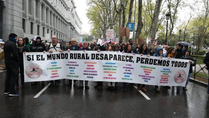 Siempre recordaremos un.dia histórico para Teruel y los olvidados de la España vaciada