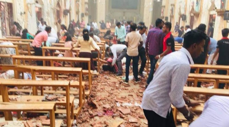 Sri Lanka sufre una devastadora serie de atentados contra iglesias y hoteles de lujo