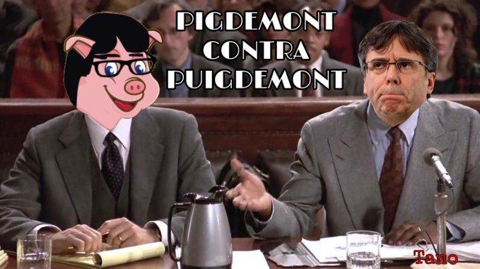 El caso de Pigdemont contra Puigdemont puede ser una nueva derrota del independentismo catalan.