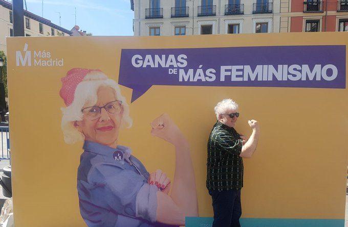 Carmena te habla de diálogo y de respeto, mientras se dedica a animar a sus esbirros a acosar a los rivales políticos, señor Zarazalejos