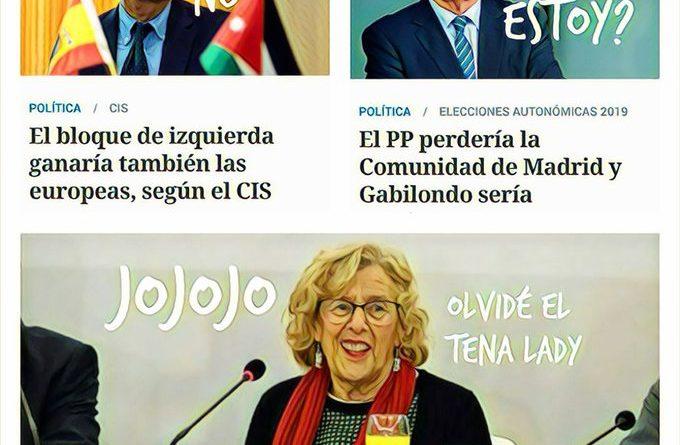 El CIS, dirigido por un socialista, anuncia la #YayoRevolution de la izquierda para las elecciones Europeas, Autonómicas y Municipales. Por Linda Galmor