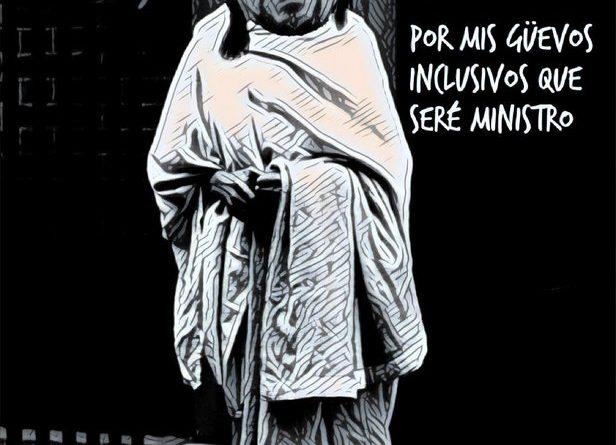 El Pavo Iglesias a la salida de Moncloa. Por Linda Galmor