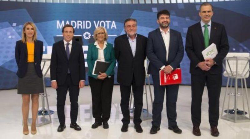 El pasado miércoles tuvo lugar el debate electoral de Telemadrid de los cinco candidatos a la Alcaldía de Madrid