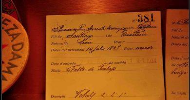 En el año 1934 Buenaventura Durruti trabajó en la famosa empresa cervecera Estrella Damm. He aquí su ficha de trabajo con el motivo del despido.