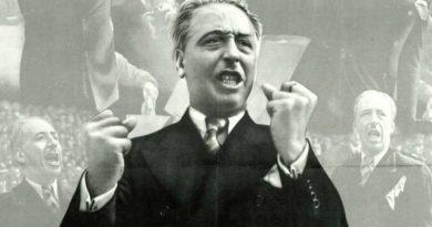 España de charanga y pandereta, de cerrado y sacristía, de pesados rencorosos y chuletas mentirosos y odiadores