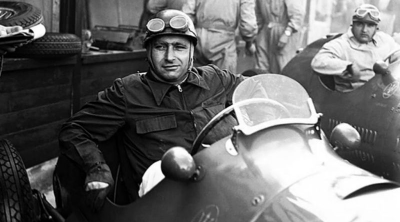 Juan Manuel Fangio, quíntuple campeón mundial de Fórmula 1