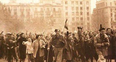 La caída de Barcelona los franquistas no tuvieron que aplastar un sola barricada.