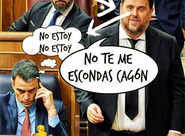 Qué vergüenza de España y del felón. Por Linda Galmor