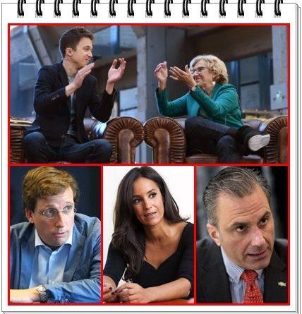 Señora Villacís, señor Martínez - Almeida, señor Ortega Smith la ancianita os la vuelve a jugar.