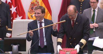 Enhorabuena, al desde hoy, Excmo Alcalde de la Villa de Madrid, D. Jose Luis Martínez-Almeida