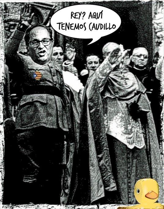 La representante de Junts Per Puchemón dice en Zarzuela que en Cataluña no hay Rey. Por Linda Galmor