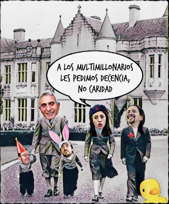 Los inscritos e inscritas han decidido: El Monstruo del Mercadona es elegido tutor - comisario educacional de la prole del matrimonio Ceaucescu. Por Linda Galmor