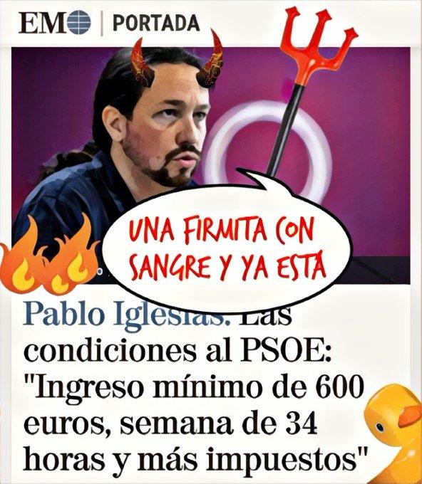 PsicoSánchez venderá España por un poquito más de Falcon. Por Linda Galmor