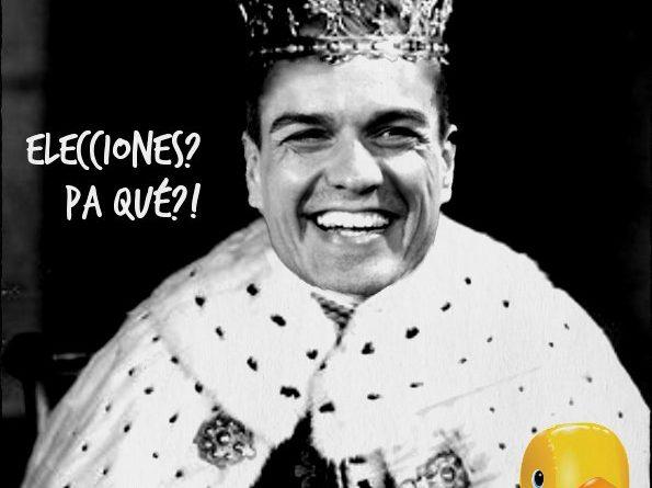 Psoe amenaza con nuevas elecciones. Catalanizando Estepaiss. Por Linda Galmor