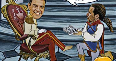 Sánchez e Iglesias se reúnen para tratar la investidura Imagen. Por Linda Galmor