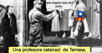 Para llorar: Una profesora catanazi agrede a una niña de 10 años, por pintar una bandera de España en su cuaderno... Por Juan Padrón Sabina