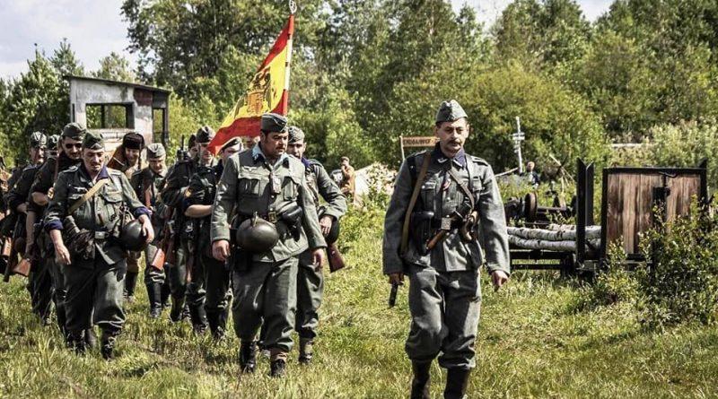 Cuidada recreación histórica de los combates en Novgorod
