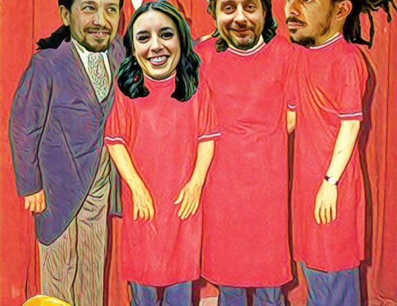 ras su reunión con el Rey, el Pavo Iglesias presenta su equipo a los medios. Por Linda Galmor