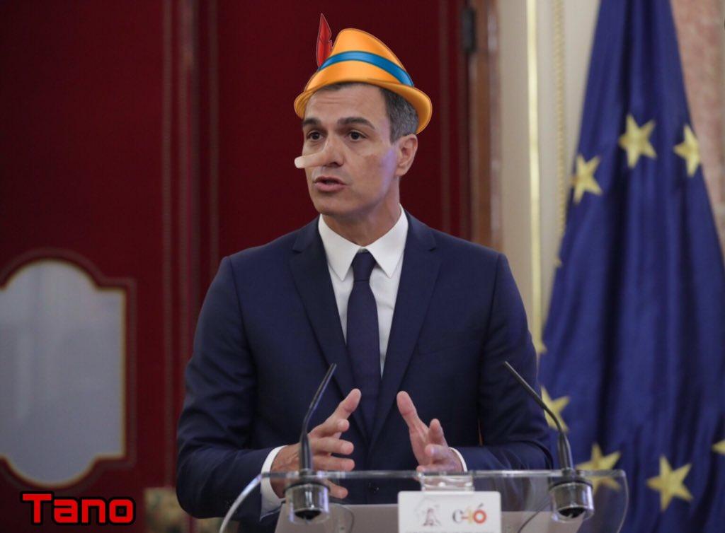 EL país de la mentira y del aquí no pasa nada en que ha convertido Sánchez a España. Por Tano