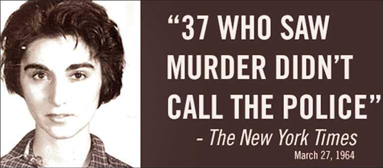 El caso Genovese fue portada del New York Times