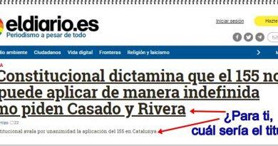 El periodismo de Ignacio Escolar ¿para ti, cuál sería el titular?