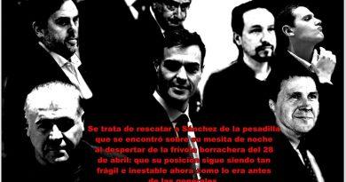 Los socialistas pretenden que el PP cometa un error histórico según Sánchez