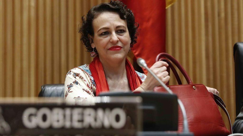 Magdalena Valerio. Ministra de Trabajo, Migraciones y Seguridad Social