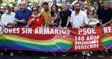 Marlaska en el orgullo gay