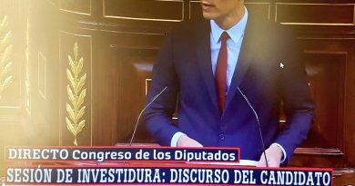 Sánchez el plagiario se presenta en el Congreso con el discurso propio del charlatán de feria.