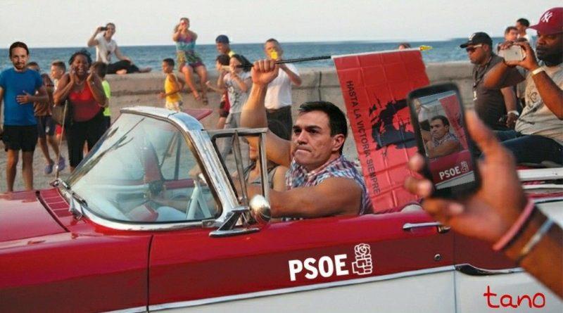 Sánchez lo celebra en el malecón comunista, Por Tano
