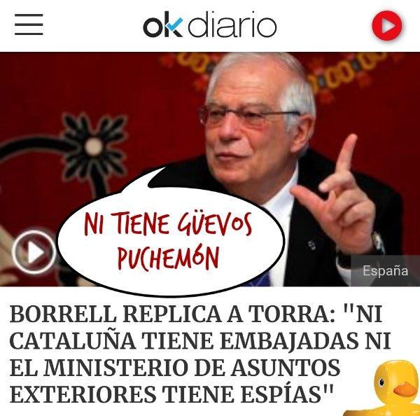 Torrademont acusa al Ministerio de Asuntos Exteriores de espiar a las embajadas catalanas. Por Linda Galmor