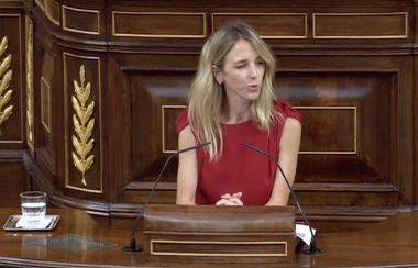 Cayetana Álvarez de Toledo Peralta Ramos en el Congreso
