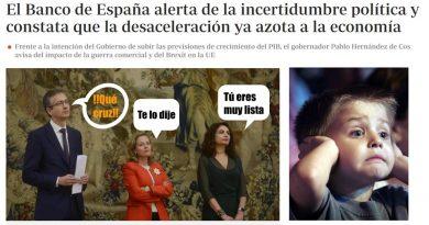 El Banco de España constata que la desaceleración ya azota a la economía