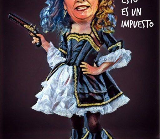 La ministra socialista de Hacienda desea un Feliz  Día a todos los contribuyentes y contribuyentas. Por Linda Galmor