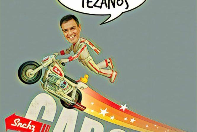 Según el CIS los votantes del PP, CS y Podemos han visto la luz y votarán a Sánchez en las próximas elecciones. Por Linda Galmor