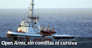 Miles de todo tipo de barcos surcan a diario el mediterráneo y sólo el Open Arms encuentra inmigrantes...