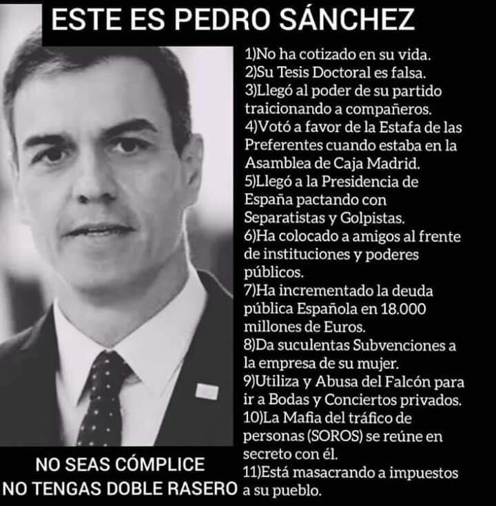 Este es Pedro Sánchez